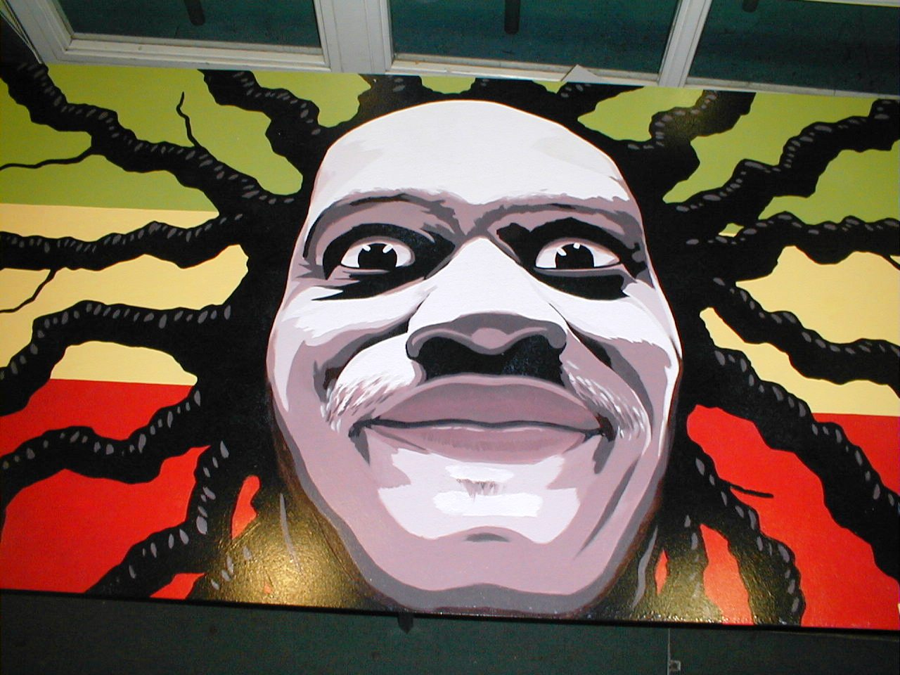 Black history for Black history mural
