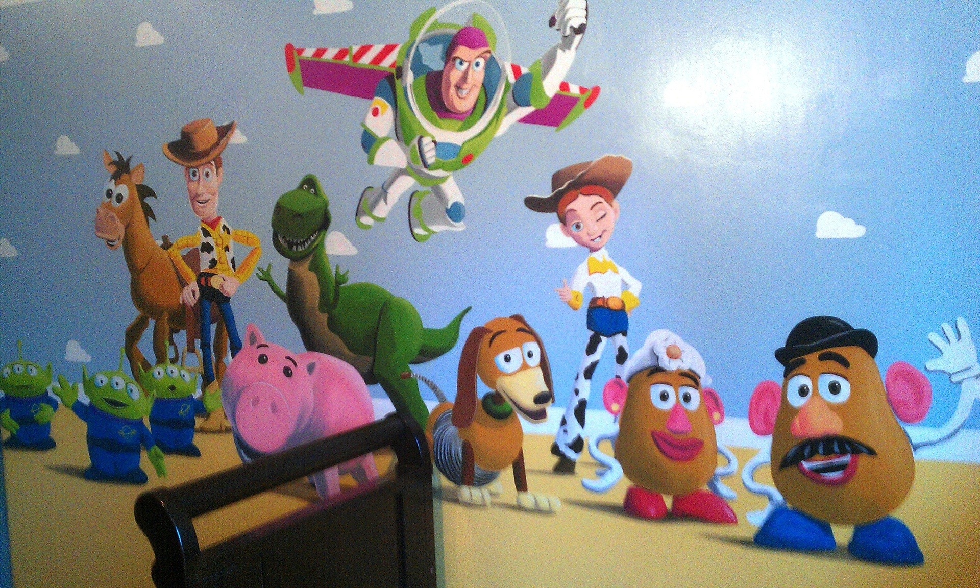 Toy story wall murals gallery home wall decoration ideas toy story wall murals amipublicfo Image collections