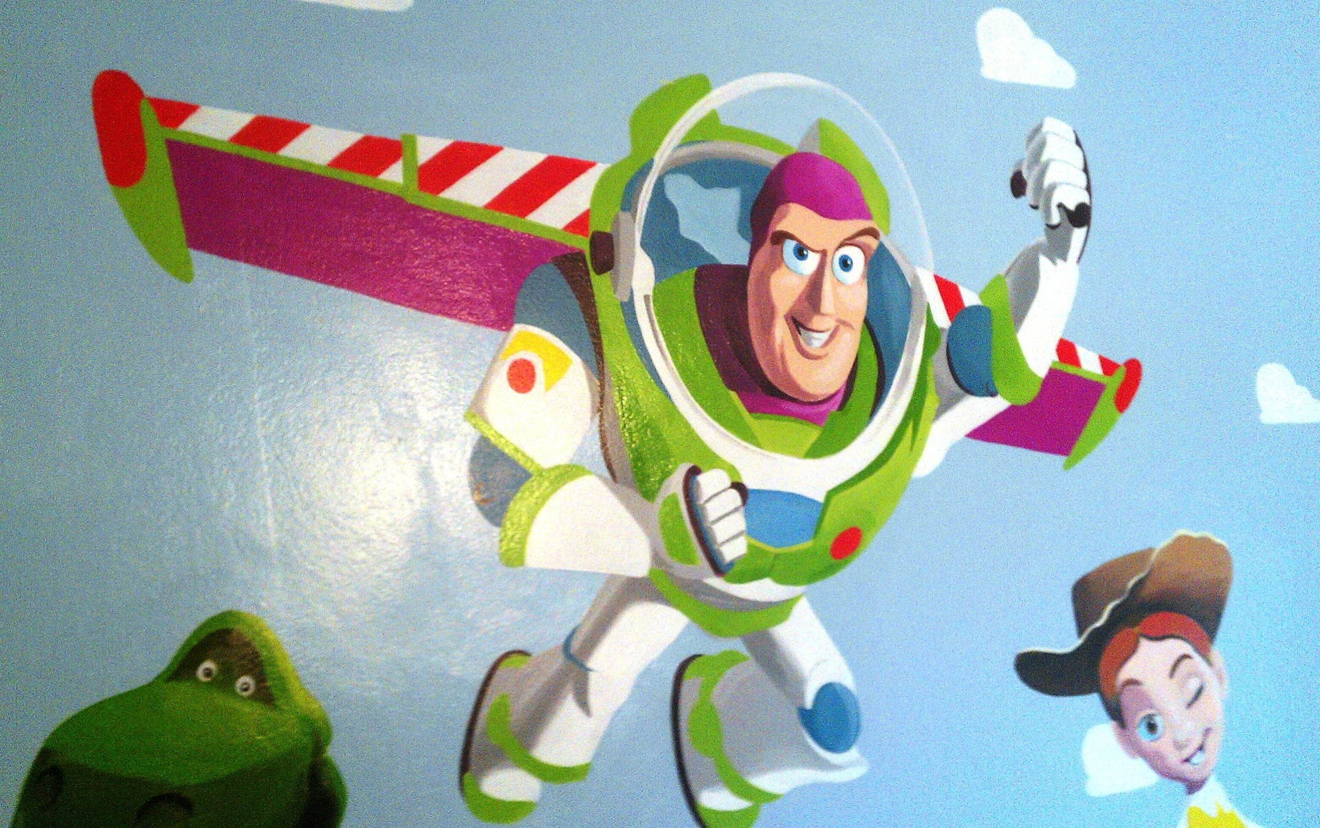 buzz lightyear wall mural wall murals ideas
