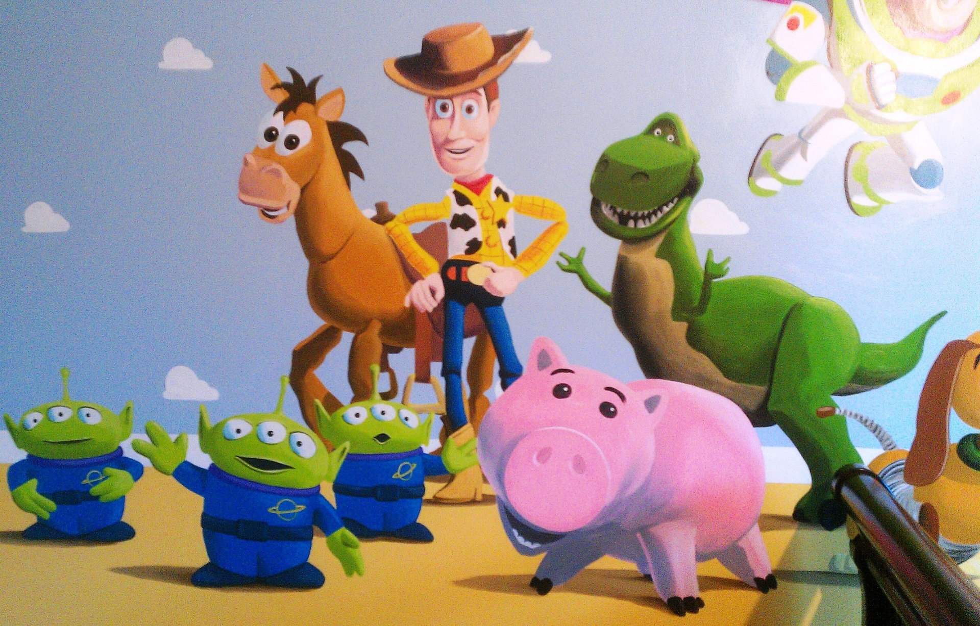 Toy Story Wallpaper Mural Uk Labzada Wallpaper