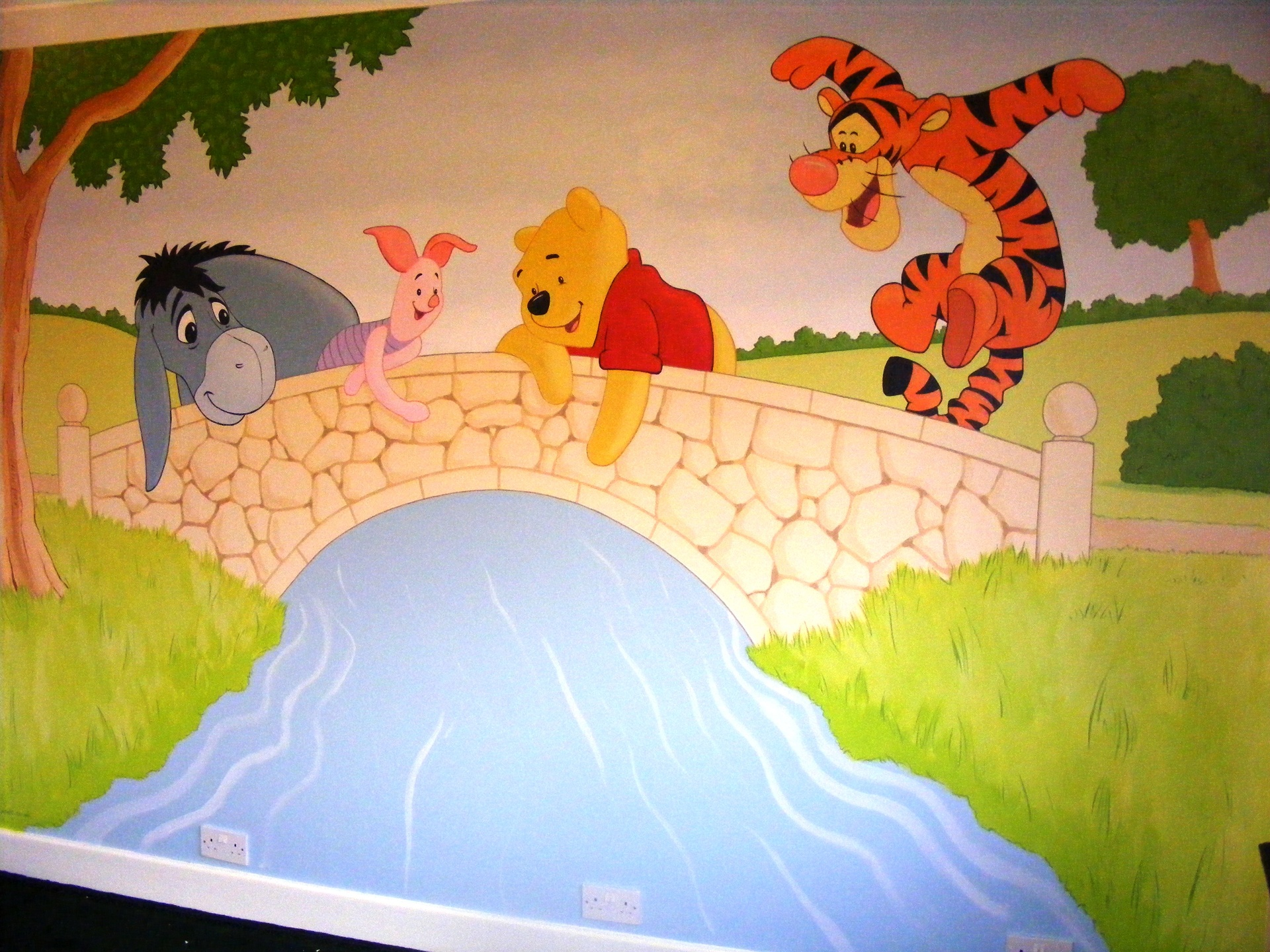 winnie the pooh wall murals home design ideas marvellous murals part 87