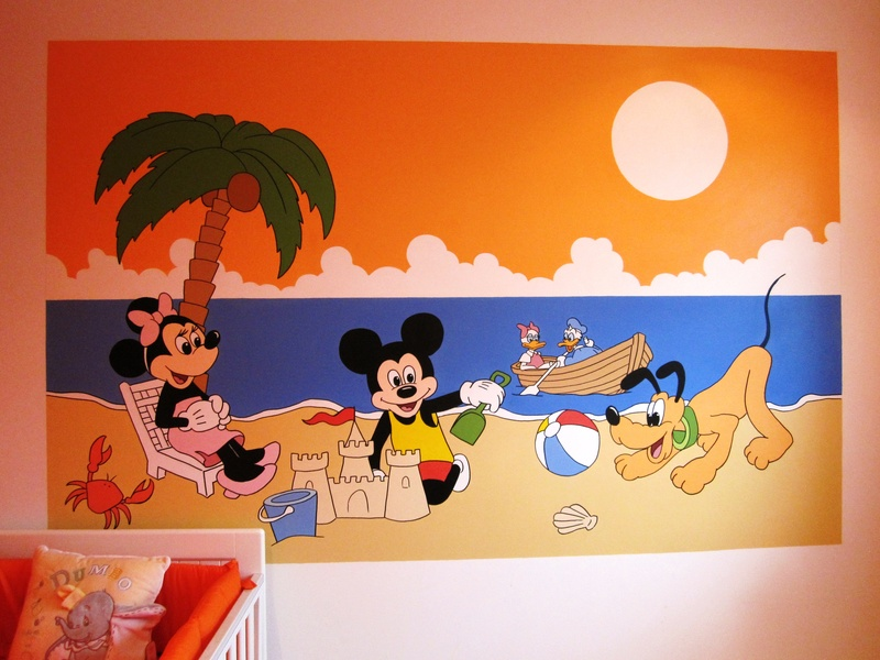 Mickey And Friends Mural