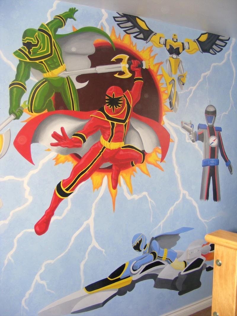Power rangers mural Power Rangers Bedroom  Power Rangers Bedroom. Power Rangers Wallpaper For Bedroom   PierPointSprings com